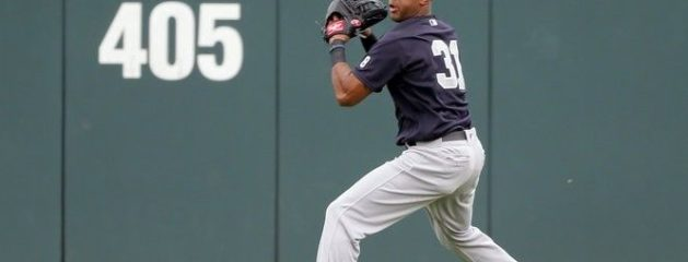 Yankees' Aaron Hicks fires record-breaking 105.5-mph throw to nab runner | Fox News